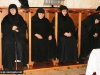 Nuns during the divine Liturgy