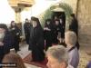 The Patriarchal Entourage exit after the apolysis