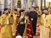 Patriarch Theophilos with Hierodeacons