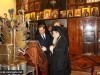 Ms Medvedev and H.B. at the Sacristy