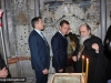 Mr Medvedev with His Beatitude inside the Aedicula
