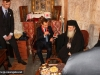 Mr Medvedev with His Beatitude in the Office of the Holy Sepulchre