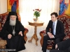 H.B. and Mr Sofianopoulos hosted to a reception by Elder Nun Melanie