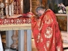 Fr Onuphrios at the divine Liturgy