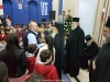 His Beatitude offers presents to St Demetrios School pupils