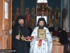 The Hegoumen of the Shrine Archimandrite Nectarios and Archimandrite Makarios