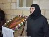 Nun Thecla receiving the noble pilgrims