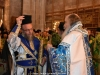 His Beatitude blessing the Elder Kamarasis Archimandrite Nectarios