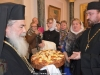 His Beatitude at the Patriarchate Hall for the reception