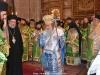 His Beatitude at the incense procedure
