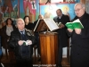 The choir at St. George in Al Khader