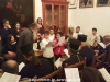 Fr. Aristovoulos with the choir