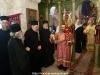 The M. Rev. Metropolitan of Helenoupolis blessing at the D. Liturgy