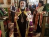 The M. Rev. Metropolitan of Helenoupolis blessing at the H.M. of St. Euthymios