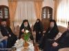 The Episcopal Entourage at the hegoumeneion for reception