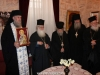 The Hegoumen Archimandrite Theodoritos offering a reception