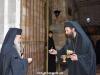 His Beatitude with the Hegoumen Archbishop Kallistos