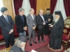 His Beatitude offering blessings from Jerusalem