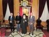 His Beatitude with Mr. Loverdos, Karagiannidis, Salmas