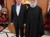 Mr. Gere with the Metropolitan of Kapitolias