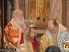 The Most Reverend Metropolitan of Nazareth at the Holies