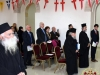 """Beginning of the ceremony singing """"Lord save Thy people"""""""