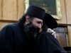 The Fathers congratulate the new monk Fr.Constantinos