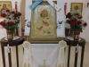 The icon of Theotokos, offering of the Patriarchate at the H. Church of Sts George & Isaac