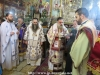 The M.Rev. Archbishop Theodosios celebrating the Divine Liturgy in front of the Tomb of Theotokos