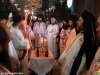 The blessing of bread at the Catholicon of Martha and Mary