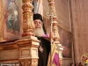 His Beatitude the Patriarch of Jerusalem at the contrite Service of the Bridegroom