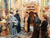 The officiating Archimandrite Nectarios at the Incense procedure