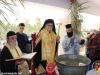 Reverend Isychios at the Blessing of Water
