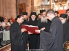 Reverend Joachim, the choir leader Fr. Aristovoulos & the choir at the Doxasticon