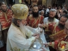 His Beatitude the Patriarch Theophilos at the Divine Liturgy