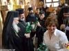 Fr. Athanasios Kakis addressing His Beatitude in Zarka