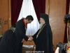 The Prime Minister of Romania thanking His Beatitude