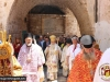 His Beatitude with His Entourage at the Holy Procession