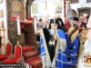 His Beatitude blessing at St. George in Acre