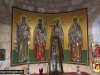 The new icon murals of the Holy Altar in St. George of the Hebrew Site
