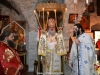The Most Reverend Archbishop Demetrios of Lydda at the Divine Liturgy