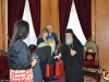 His Beatitude offering the Committee blessings from Jerusalem