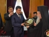 H.H.B. & the Prime Minister of Ukraine at the exchanging of gifts