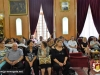 The pilgrims from Koufr Yassif at the Patriarchate Hall