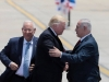 Mr. Donald Trump is received by President Mr. Reuven Rivlin at the airport