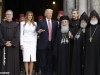 Mr. Donald Trump, His Beatitude Patriarch Theophilos, the Custos of the Holy Land & representatives of the Armenian Patriarchate