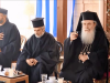 Elder Achillios offers a reception the the H. Monastery of the Ascension