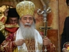 His Beatitude the Patriarch of Jerusalem Theophilos leading the Divine Liturgy