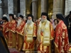 The Archbishops and Priests dressed in the Divine Liturgy