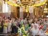 The noble congregation at the Russian Church of the Holy Trinity